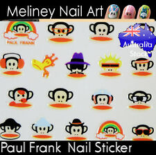 Paul Frank Monkey Nail Art Stickers character decoration Craft Supplies
