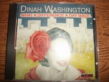Dinah Washington-What A Difference A Day Made-199s Sarabandas-Italy!