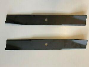 "2 x blades to fit 38"" cut Toro XLS380 ride on mower ZTR MOWERS 79-3061 14-7799"