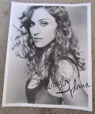 Vintage Madonna 8 X 10 Signed Photo Autopen