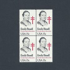 Emily Bissell - Christmas Seals - Vintage Mint Set of 4 Stamps 39 Years Old!