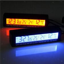 39b64b230530 Termómetro Reloj Digital para Coches Digital del Coche Termómetro del Reloj