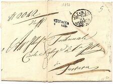 P3917    Mantova, VIADANA per Ferrara 1853