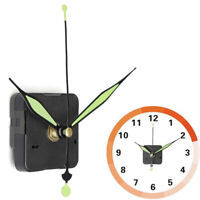 Luminous Silent Quartz Wall Clock Spindle Movement Mechanism Part DIY Repair Kit