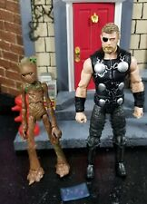 Marvel legends thor and teen groot lot Avengers endgame infinity war ironman