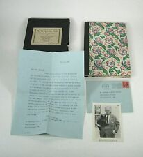 The Presbyterian Child Joseph Hergeheimer Limited Edition 462 Letter From Author