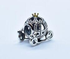 Pandora Disney, Cinderella's Pumpkin Coach Charm, Clear CZ Silver 925 Ale 791573