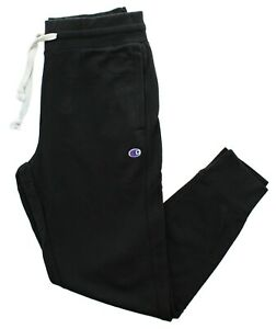 Champion Men's Jersey Joggers Lightweight Activewear Pants Cuffed Ankles Pockets