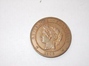 10 centimes Ceres 1896 A TTB BRONZE