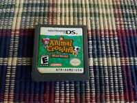 Animal Crossing: Wild World (Nintendo DS, 2005) - Authentic - Save Works!