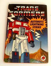 Vintage Ladybird Books ~ LIGHTING STRIKE ~ Transformers ~ 1st Edition (HE51)