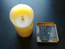 "Luminara 5.5"" Real Flame-Effect Candle w/Remote"