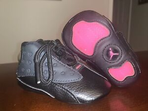 Baby/Infant Jordan 13 Retro Soft Bottom Crib Shoes 'Hyper Pink' - Size 2C