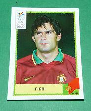 N°66 FIGO PORTUGAL PANINI FOOTBALL UEFA EURO 2000