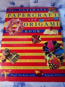 Hardback Book Papercraft and Origami 1997 Paul Jackson & Angela A'Court