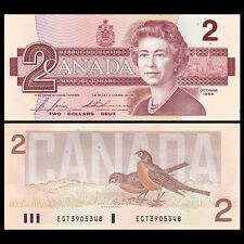 Canada 2 Dollars, 1986, P-94c, UNC
