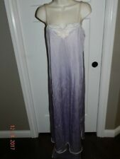 Vintage Lavender nylon negligee night gown small S Vanity Fair small lingerie