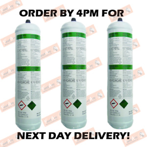 3 x ARGON/CO2 DISPOSABLE GAS WELDING CYLINDER MINI MIG WELDING BOTTLE 86%/14%