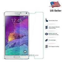 Tempered Glass Screen Protector Film Guard For Samsung Galaxy Note 5 - NEW