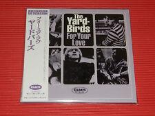 4B THE YARDBIRDS FOR YOUR LOVE WITH BONUS TRACK  JAPAN MINI LP CD