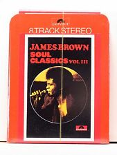 JAMES BROWN Soul Classics Vol. III 1975 UK 8-Track tape SEALED MINT art sleeve
