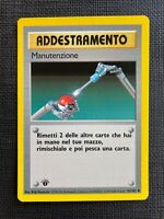 Pokemon Manutenzione 1st Edition Base Set Italiano #83/102 NM-M (T)