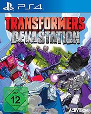 Transformers Devastation Neu PS4-Spiel
