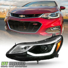 2016-2018 Chevy Cruze Projector Style w/ LED DRL Headlight Headlamp Driver Side