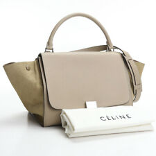 [Used good product] CELINE Trapeze leather beige 174683 [Rank:A]  2WAY lady