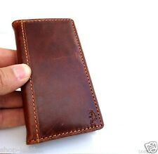 genuine full leather case for iphone 4 4s book wallet cover skin handmade thin R