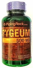 500mg Pygeum Africanum Bark Extract 100 Capsules Dietary Herbal Supplement Pills