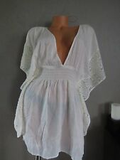 Victoria Secret BEACH COVER UP SWIM CROCHET SEXXXY!!! SIZE:LARGE
