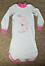 Vintage Care Bears Nightgown - Nightie - 1982 - Toddler Size - Love-A-Lot Bear