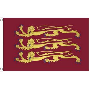 Richard The Lionheart Flag - Great Britain - 5 x 3 FT - British Historical Lions