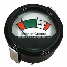 Golf Cart - 48 Volt Round Analog Charge Meter