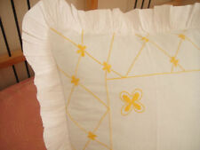Unbranded Embroidered 100% Cotton Pillow Cases
