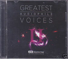Greatest Audiophile Voices Vol.2 24bit/96KHz DW Mastering 2-CD Brand New Sealed