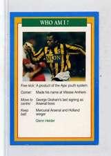 (Jm893-100) RARE,Q.O.S Who Am I ,Glenn Helder ,Soccer 1994 MINT