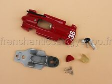 OQ' Voiture Maserati 250 F N°36 Fangiocollector rouge 1/43 Heco modeles