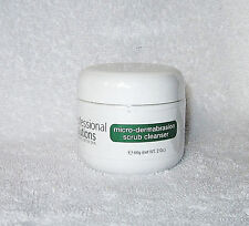 HYALURONIC ACID MICRO DERMABRASION SCRUB CLEANSER TREATS ACNE & PROBLEM SKIN 2oz