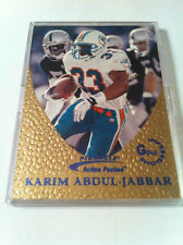 1997 PINNACLE ACTION PACKED KARIN ABDUL-JABBAR GOLD IMPRESSIONS EMBOSSED INSERT