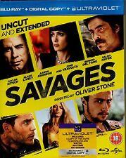 SAVAGES-Oliver Stone-Blu Ray DVD-(Region B)+ Digital copy-Brand New-Still sealed
