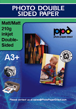 A3 Plus Photo Paper Double Sided Matt 210g X 50 Sheets
