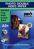 A3 Plus Photo Paper Double Sided Matt 210g X 50 Sheets
