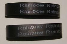 RAINBOW VACUUM 2 BELTS FITS  POWER NOZZLE D3 D4 D4C SE E SERIES GENUINE OEM PART