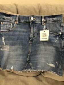 NWT Just Jeans Denim Skirt Size 10 Rrp $59.95