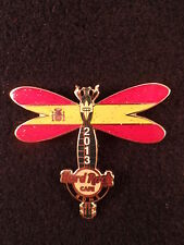 Hard Rock Cafe ROME 2013 DRAGONFLY GUITAR Series PIN - SPAIN LE 300 - HRC #72979