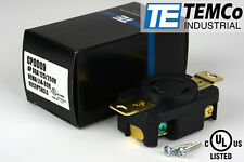 TEMCo NEMA L14-30 Female Receptacle 30A 125/250V Locking UL for Generator
