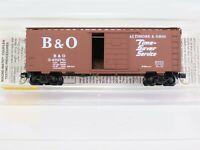 N Scale MTL Micro Trains 20346/2 B&O Baltimore Ohio 40' Standard Box Car #470751