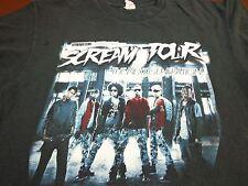 2011-2012 Next Generation   Mindless Behavior The Scream Tour  Medium T Shirt H7